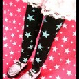 starタイツ☆ブラック
